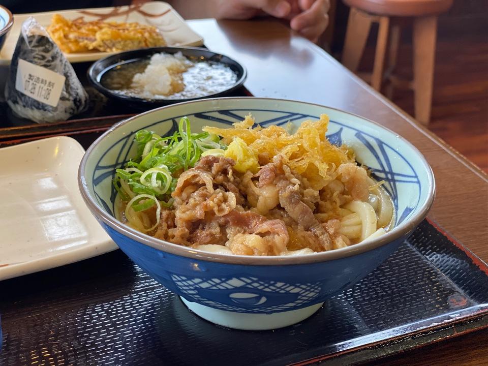 丸亀製麺 茨木島店の口コミ