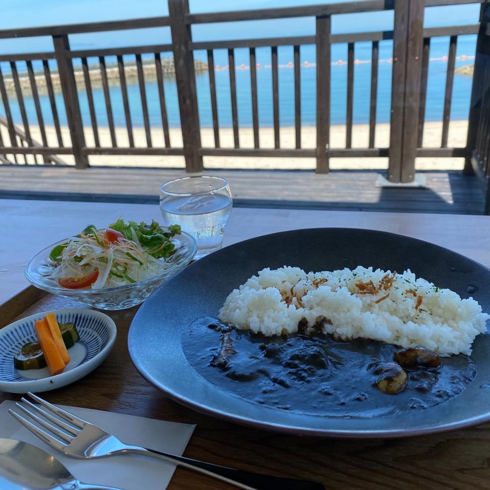 ふたみ渚のレストラン Monde Bleu