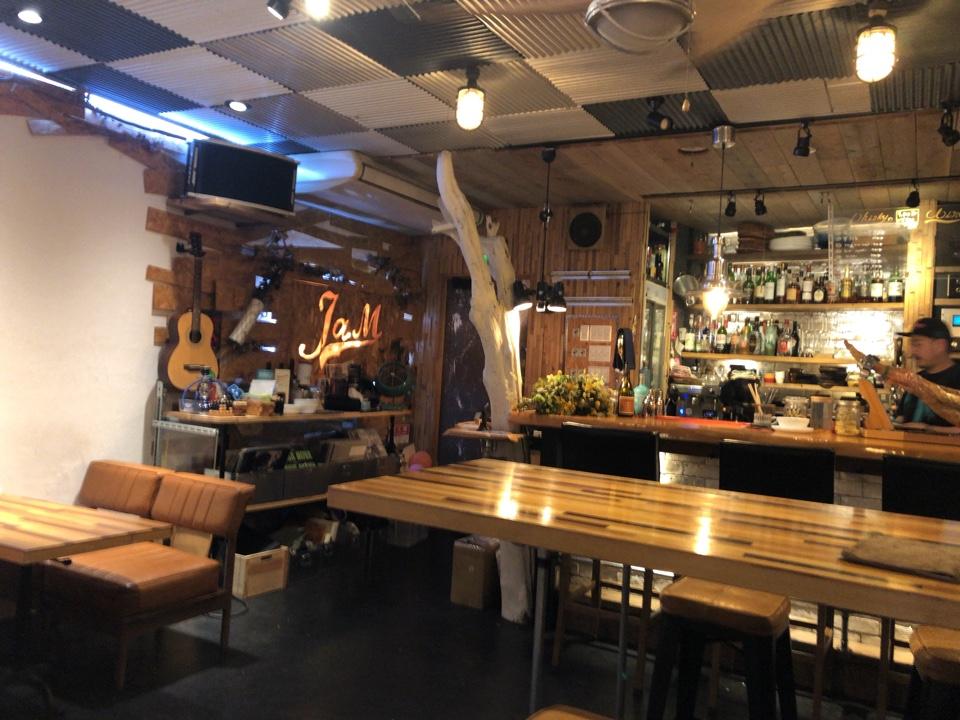 cafe bar jaM 桜井