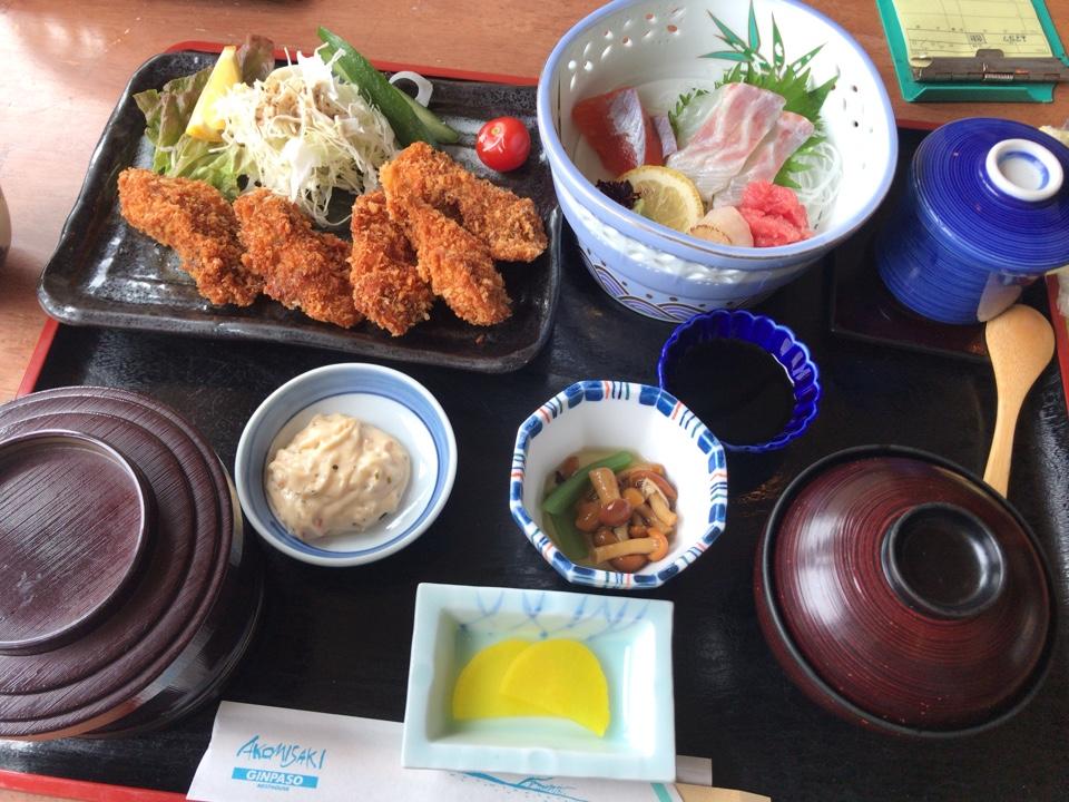 海鮮市場 レストラン銀波荘