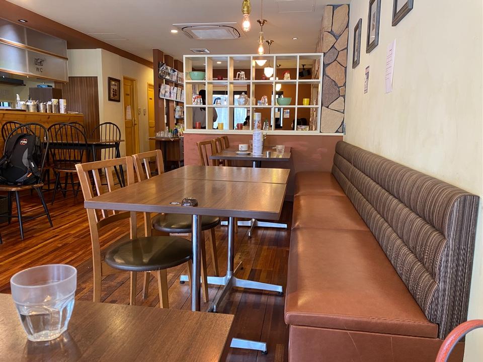 Cafe Downey 日赤店の口コミ