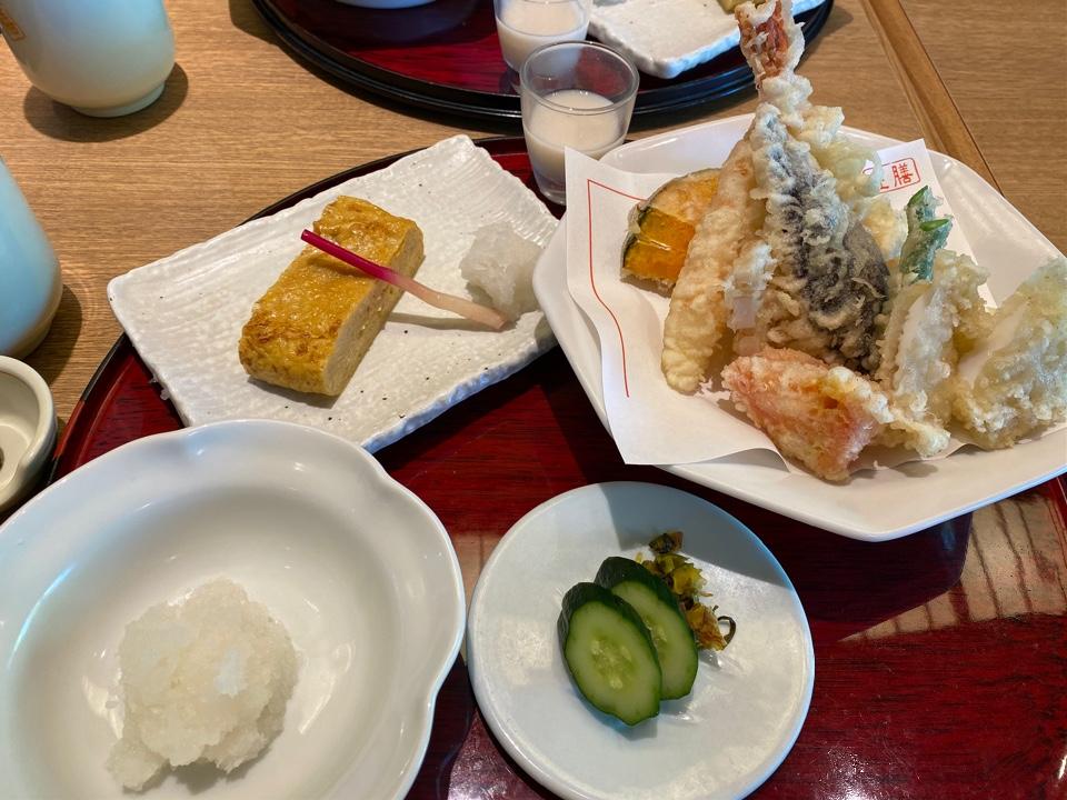 天ぷら左膳 鹿児島本店の口コミ