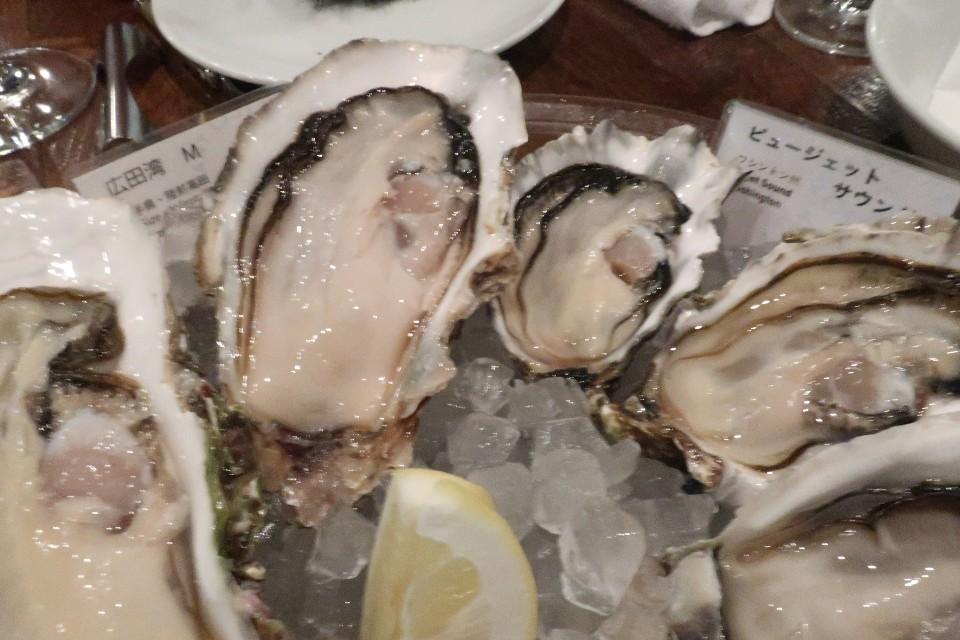 Ostrea oysterbar & restaurant 六本木店の口コミ