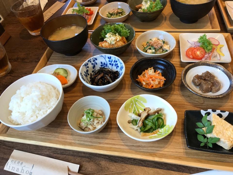 旬菜厨房 inahoの口コミ