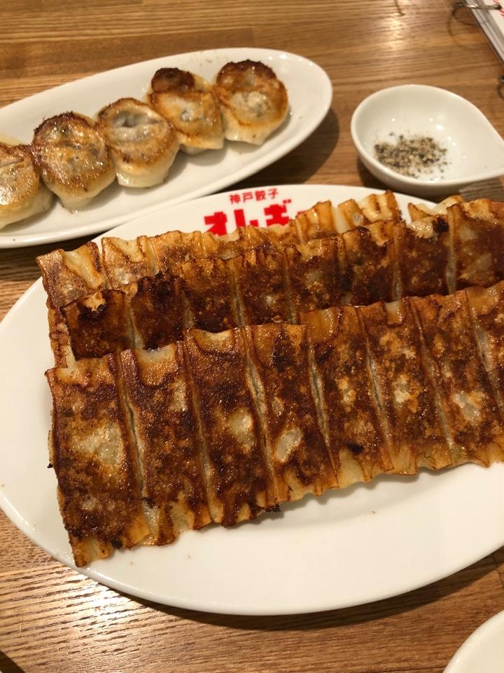 神戸餃子 オレギョ 中央店の口コミ