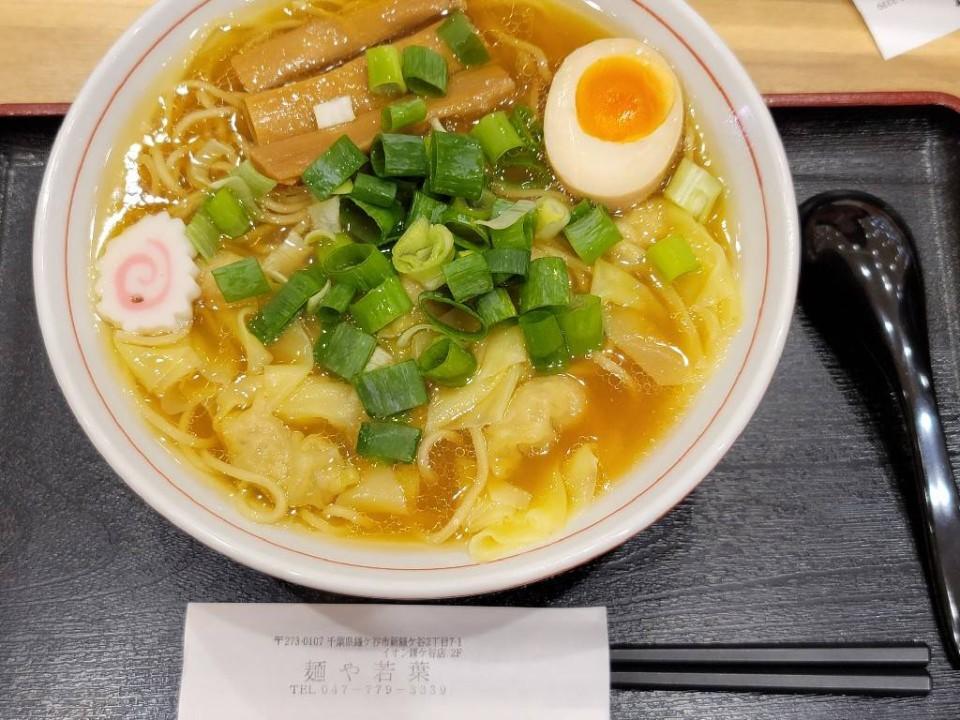麺や若葉 イオン鎌ヶ谷店