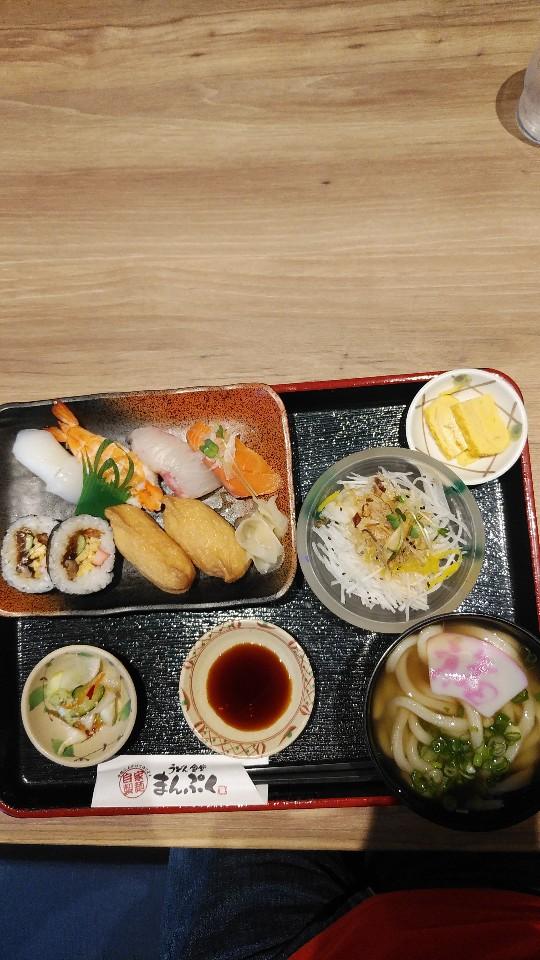 寿司 うどん 天ぷら 味処まんぷく