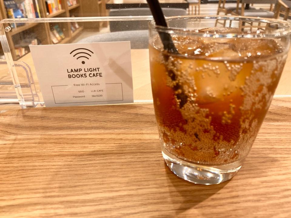 LANP LIHGT BOOKS CAFE sapporo