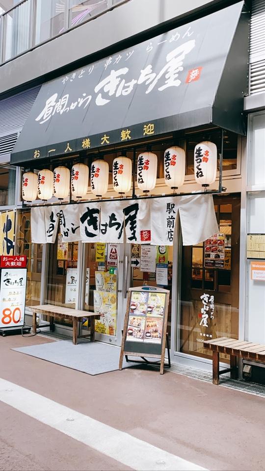 昼間っから きはち屋 富山駅前店