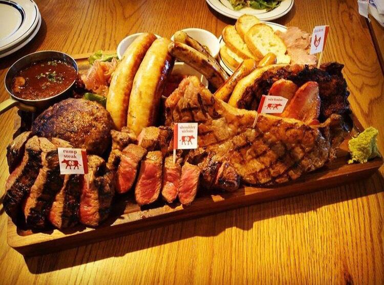肉が旨いカフェNICK STOCK イオンモールKYOTO店の口コミ