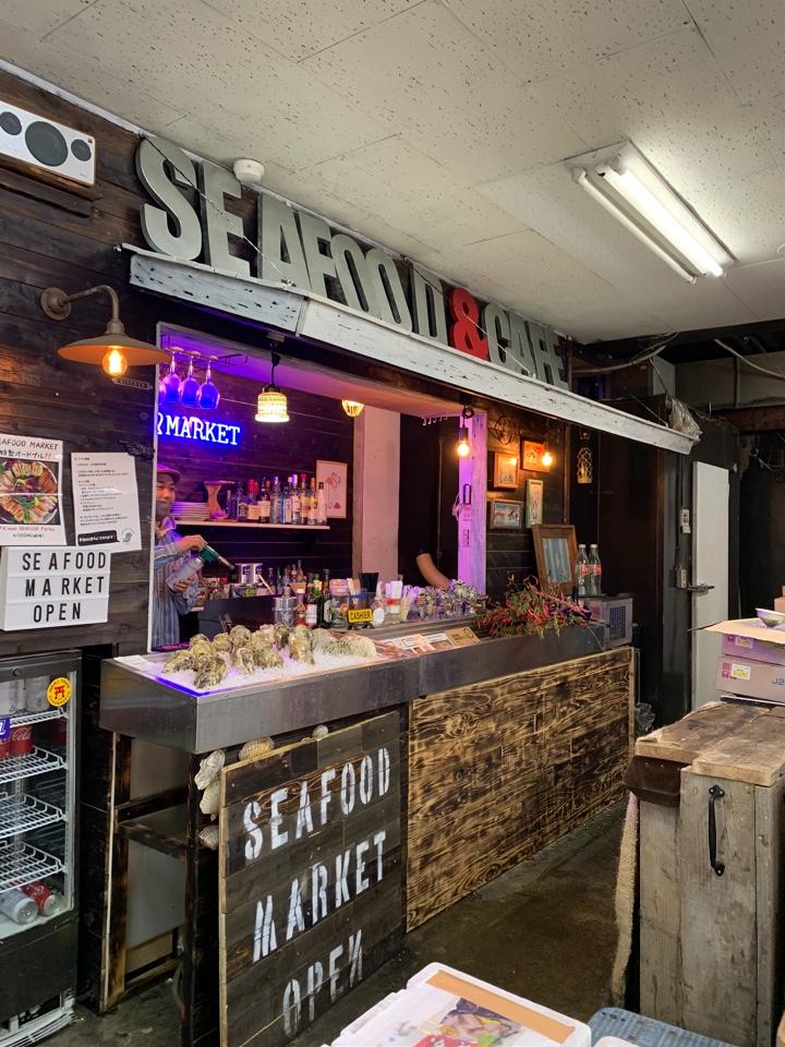 sea food marketの口コミ