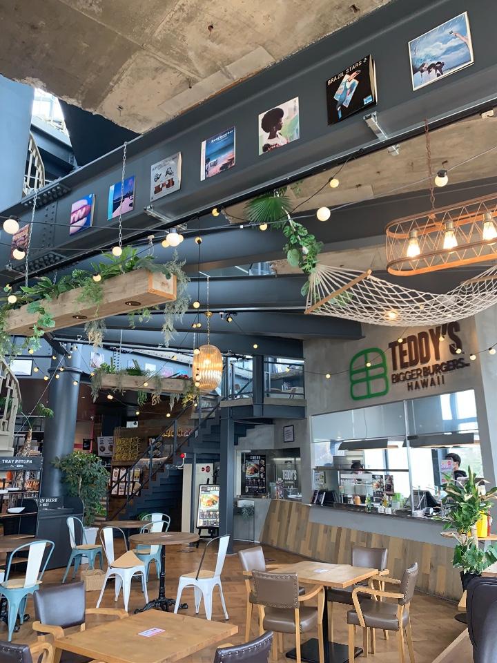 TEDDY'S Bigger Burgers 日向市 金ヶ浜店