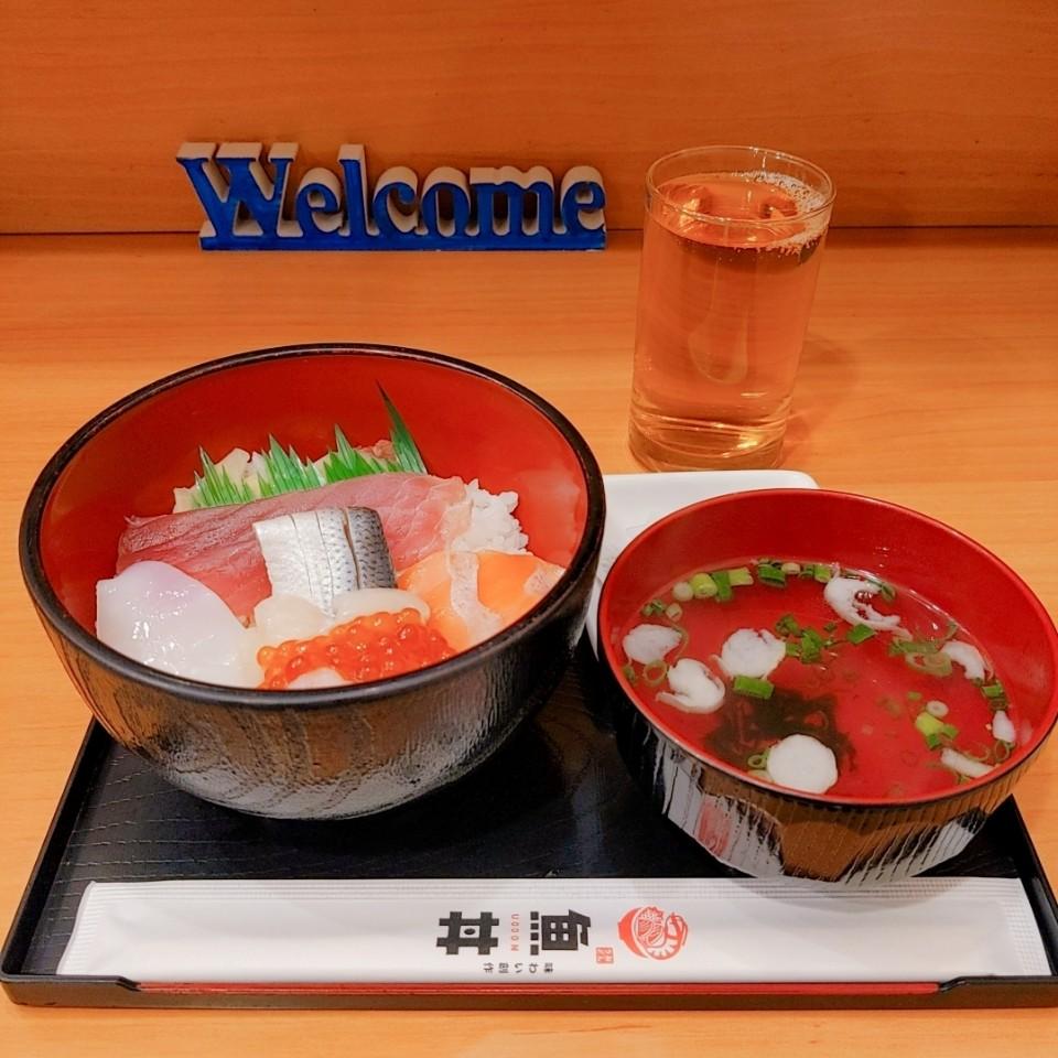 魚丼屋 聴家 東十条店の口コミ