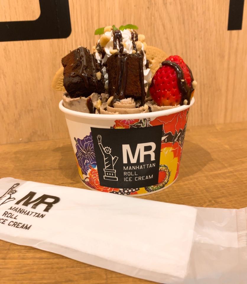 マンハッタンロールアイスクリーム 瀬長島ウミカジテラス店の口コミ