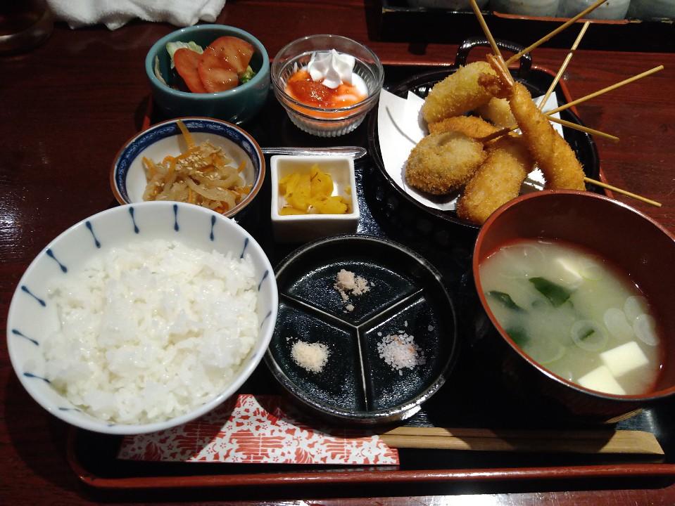 京風串揚げの店 飯場JIN